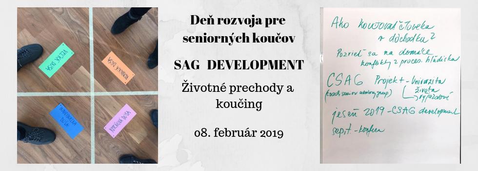 Deň rozvoja pre seniorných koučov - SAG Development