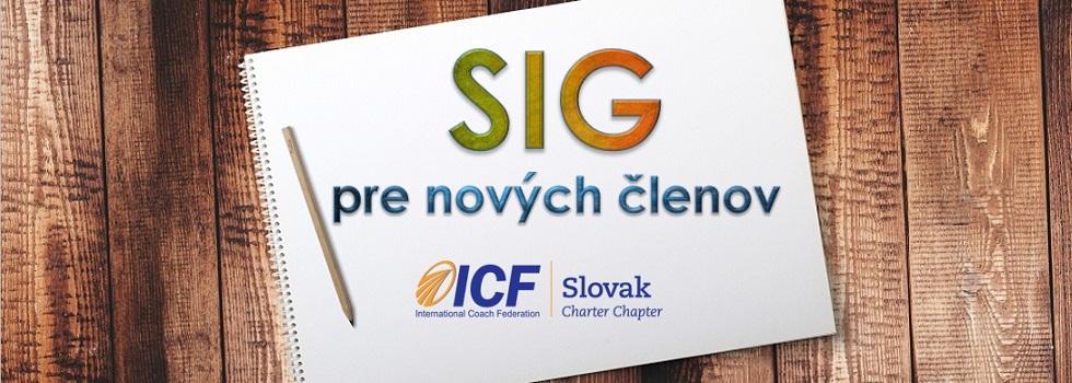 Zapojte sa do Special Interest Group pre nových členov ICF Slovak Charter Chapter